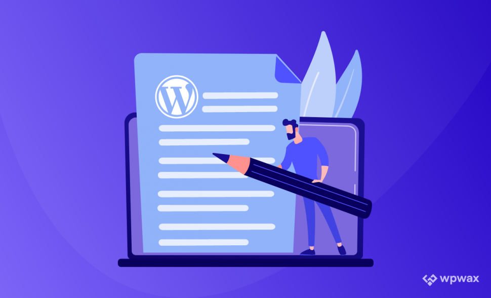 how to write blog posts in WordPress